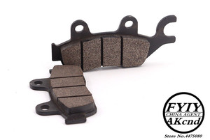 Image 4 - Front Rear Brake Pads For HONDA CB190R CBF190X 16 18 VRF250L CRF250R CBR125 MSX 125 D Grom Motorcycle Accessories