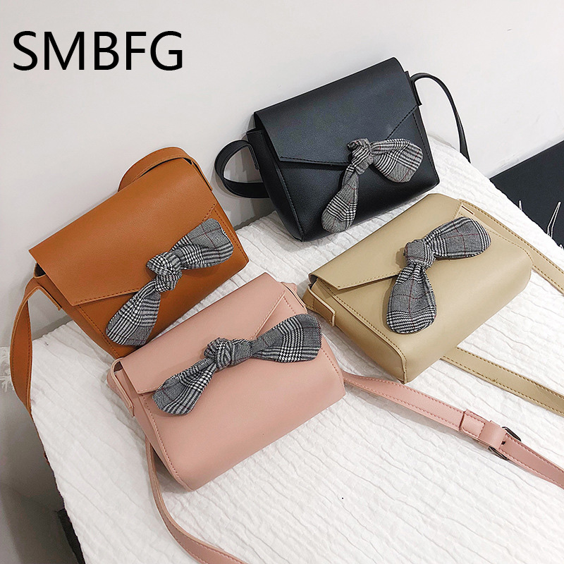 Women Handbag with Bow Female PU Leather Small Bags Handbags Ladies Portable Shoulder Bag Office Ladies Hobos Bag 2018 New 6