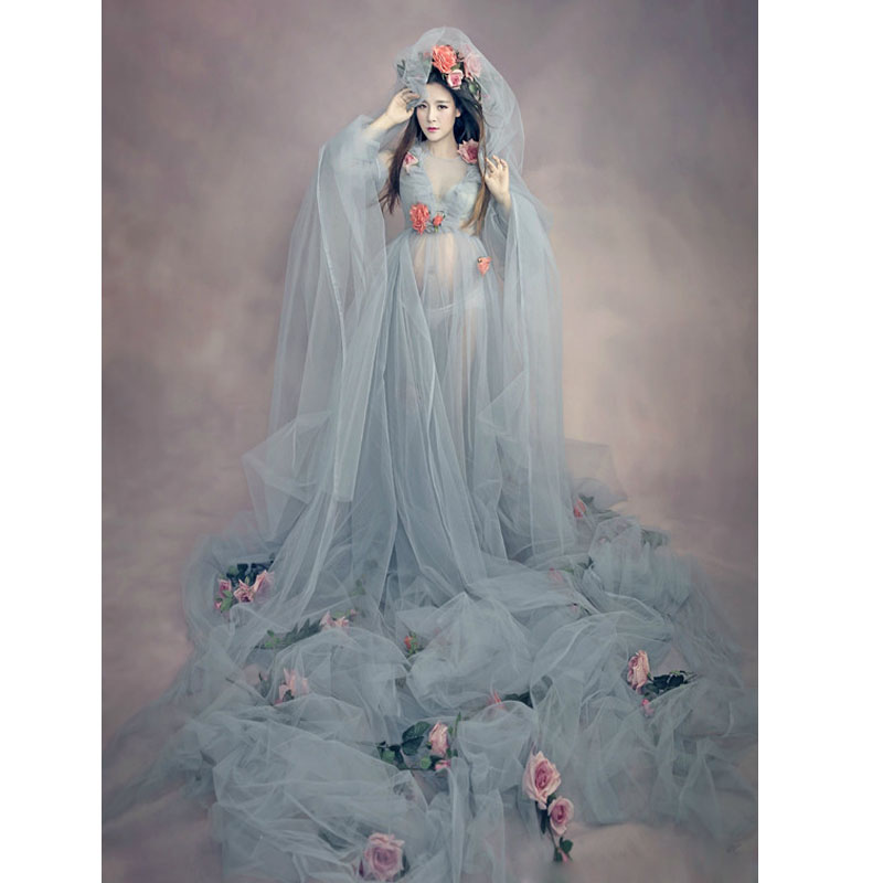 Maternity Pregnant Dress Women Fashion Maternity Photography Props ...