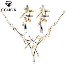 CC Vintage conjuntos de joyas para mujer, collar, conjunto de compromiso para Boda nupcial, accesorios únicos, anelia Donna CCAS122