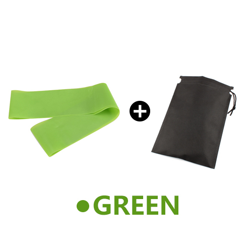 Green with Bag