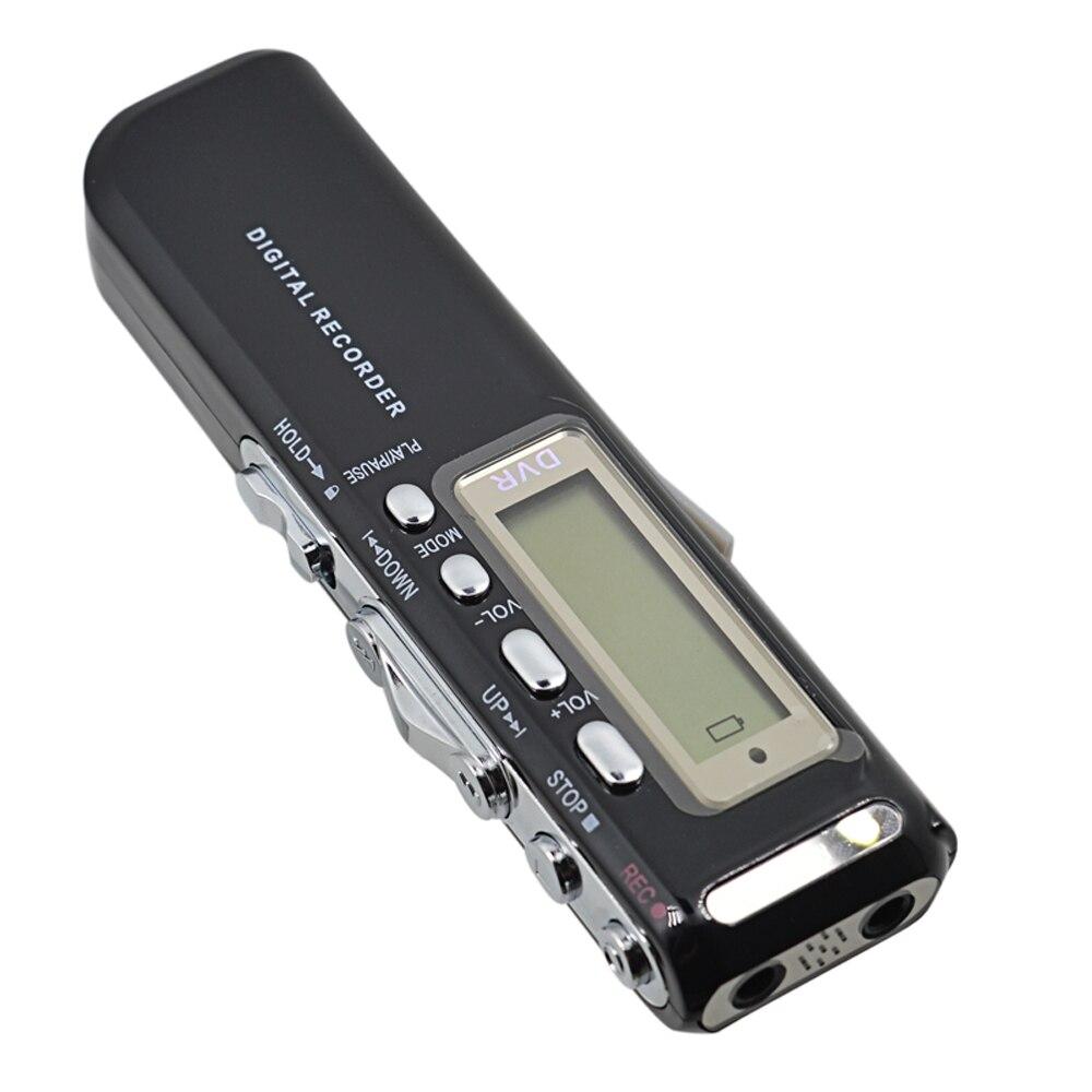 8GB MINI telefon cyfrowa aktywowana głosem rejestrator audio dyktafon WAV sterownik pióra gravador de voz Professional