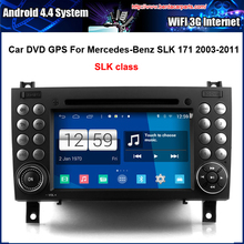 Car DVD/GPS player FOR Mercedes Benz SLK 171 2003-2011 With GPS A8 Chipset 3 Zone POP BT Free Map