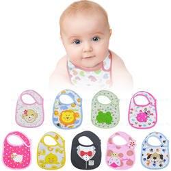 Хлопок нагрудник младенческой слюны полотенца детские непромокаемые нагрудники одежда для новорожденных мультфильм аксессуары
