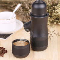 Manual Mini Portable Manual Espresso Coffee Maker Hand Operated Coffee Machine Pot For Home Outdoor Travel