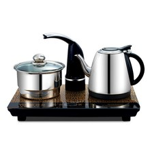 Free shipping Automatic electric kettle water pumping device burn hydropower teapot tea