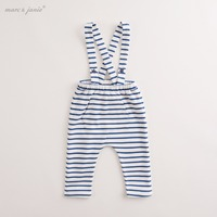 Marc Janie Baby Boys Girls Boys Star Pattern Overalls With Bib Pocket 71087