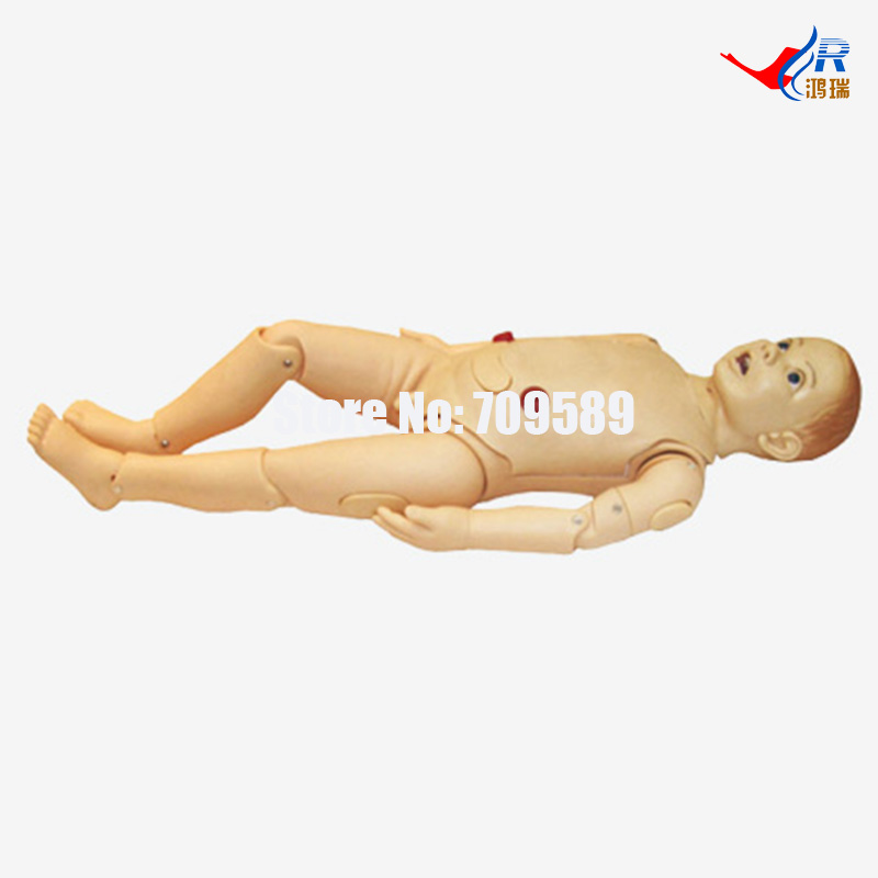 Advanced Child Nursing Manikin(3 years), Nursing Manikin bix h2400 advanced full function nursing training manikin with blood pressure measure w194