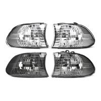 1Pair Car Corner Light Left Right Side Lamps For BMW 7 Series E38 1999 2000 2001