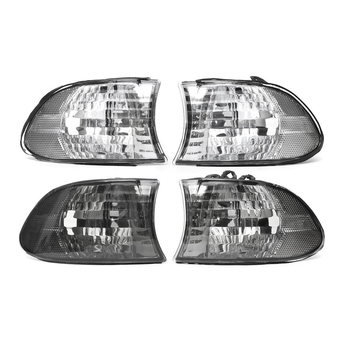 1Pair Car Corner Light Left+Right Side Lamps For BMW 7 Series E38 1999 2000 2001 car light left