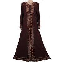 Muslim Abaya Kaftan Islamic Clothing For Women Beading Design Turkish Maxi Abaya In Dubai Kaftan Dress