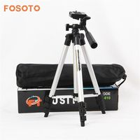 New Flexible Professional Protable Aluminum Digital Camera Mini Tripod For Canon Nikon D7100 D90 D3100 Sony