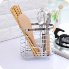Multifunction kitchen Tableware Shelving Rack Stainless Still Sundries Pen Pencil Cosmetic Storage Basket Organizer Container
