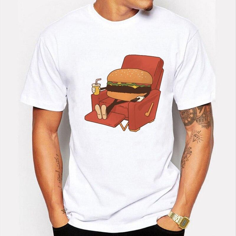 2017 summer fashion hamburg on sofa design t shirt men 39 s for High quality custom shirts