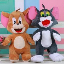 Hot new toys 30cm plush toy Tom cat and mouse Jerry Children's birthday Christmas gift m132