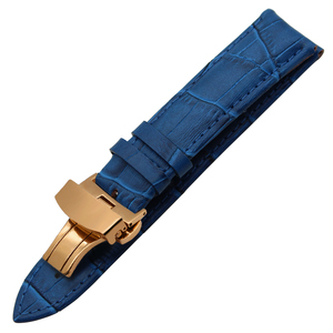 Image 2 - Genuine Leather Watchband for Breitling Omega Mido Replacement Watch Band Butterfly Clasp Strap 14/16/18/19/20/21/22/23/24/26mm