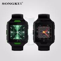 2017 4G reloj inteligente smartwatch M9 Android 6.0 MTK6737 1G + 8G IP67 A Prueba de agua 850 mAh Batería larga Espera reloj Resistente Al Aire Libre