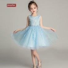 Цветочные платья janeygao для девочек свадебной вечеринки официальные