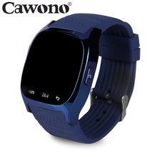 Cawono M26 Wearable Devices Smart Watch Bluetooth Relog Sync Phone Call Pedometer Music Player Pedometer For