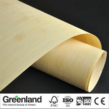 Bamboo Veneer Flooring DIY Furniture Table Natural Material Chair Cabinet Doors Outer Skin Size 250x42 Cm Natural Horizontal