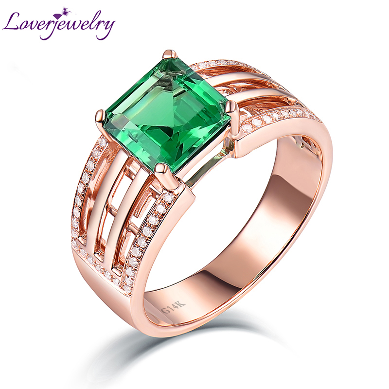 rings flower shipping emerald fine sterling in jewelry accessories ring silver style from item natural on free gem real