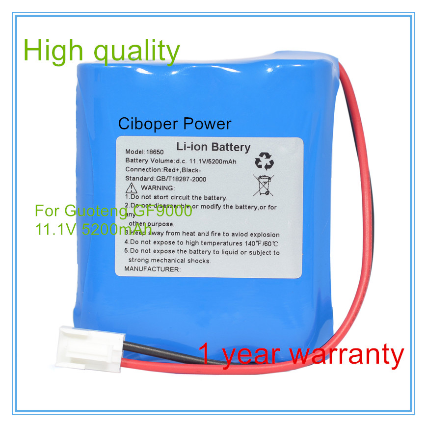 Manufacturers sales ECG battery Replacement For GT9003F Biomedical Medical Battery replacement medical battery for mindray equipment t5 t6 t8 ecg battery
