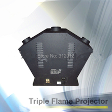 DMX512 Triple Flame Projector