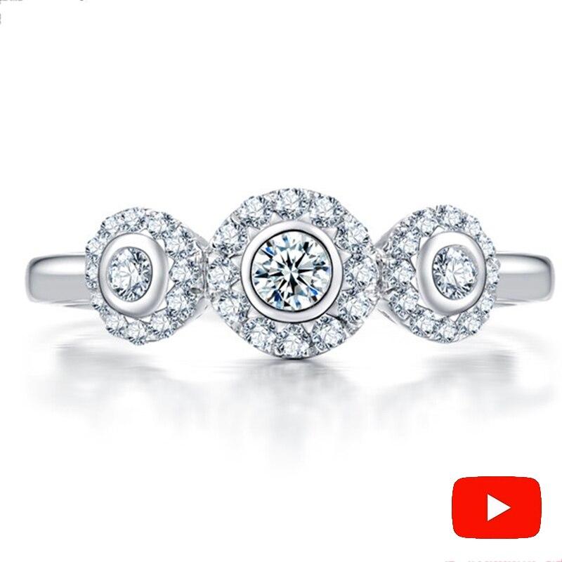 Sona 가짜 고급 조각 반지 s925 스털링 실버 다이아몬드 맞춤 반지 결혼 반지 925 캐럿 선명도-에서반지부터 쥬얼리 및 액세서리 의  그룹 1