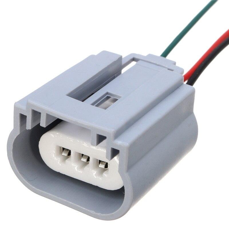 1PCS H13 Headlight Bulb Male Wire Harness Connector Wiring Plug Socket Adapters H13 Bulb Holder 1pcs h13 headlight bulb male wire harness connector wiring plug