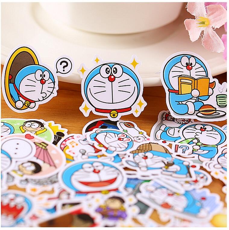 39pcs Creative Kawaii Self-made Doraemon Stickers/ Beautiful Stickers /decorative Sticker /DIY Craft Photo Albums