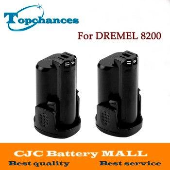 High Quality 2PCS Newest Replacement 12V 2000mAh Li-ion battery for DREMEL 8200, 8220, 8300, B812-01,B812-02 фото