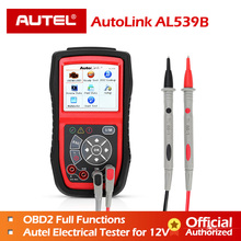 Autel AutoLink AL539B OBDII scanner automotive Electrical Te