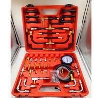 TU443 Multifunction Fuel System Gasoline Fuel Injection Pump Tester 0 100 PSI Automotive Fuel Pressure Gauge Engine Testing Kit