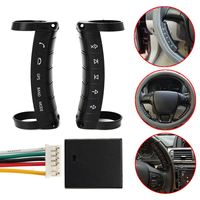 Autoleader Universal Wireless Car Steering Wheel Button DVD GPS Remote Controller for Stereo DVD GPS Only for Navigation