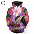 Wholesale Newest Dragon Ball Z  Hoody 3D  Hooded Sweatshirt Men Autumn Hip Hop Zipper Hoodies Outerwear Tracksuit S-6XL