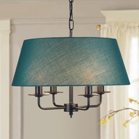 Vintage American Iron American country Pendant Lights simple European style garden restaurant bedroom living room Lamp ZCL