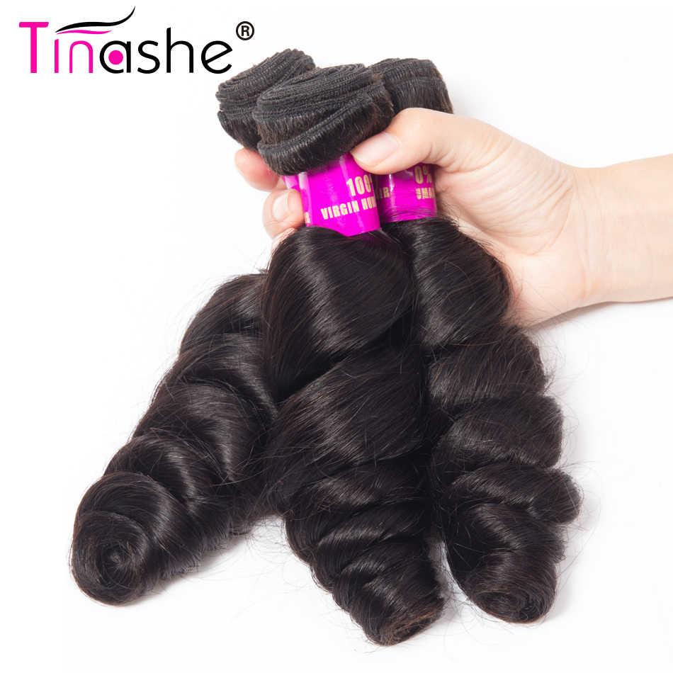 Tinashe Haar Braziliaanse Haar Weefsel Bundels Remy Human Hair Wave 4 Bundels Haar Weven Uitbreiding Natuurlijke Kleur Losse Golf Bundels