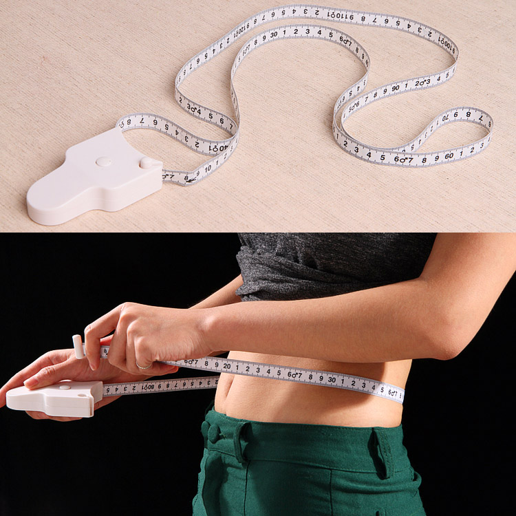 US $1 61 24% OFF 150cm Fitness Accurate Fitness Caliper Body Waist Chest  Arms Legs Measuring Tape Retractable Ruler Measure ALI88-in Tape Measures