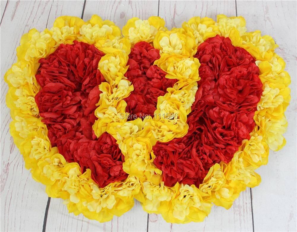 SPR FreeShipping 10pcs / lot Umjetna svila Rose Vjenčanje Car - Za blagdane i zabave - Foto 2