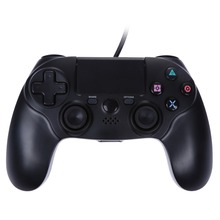 1.8m USB Cable Wired Game Controller Dual Vibration 6 Axies Gamepads for Playstation 4 PS4