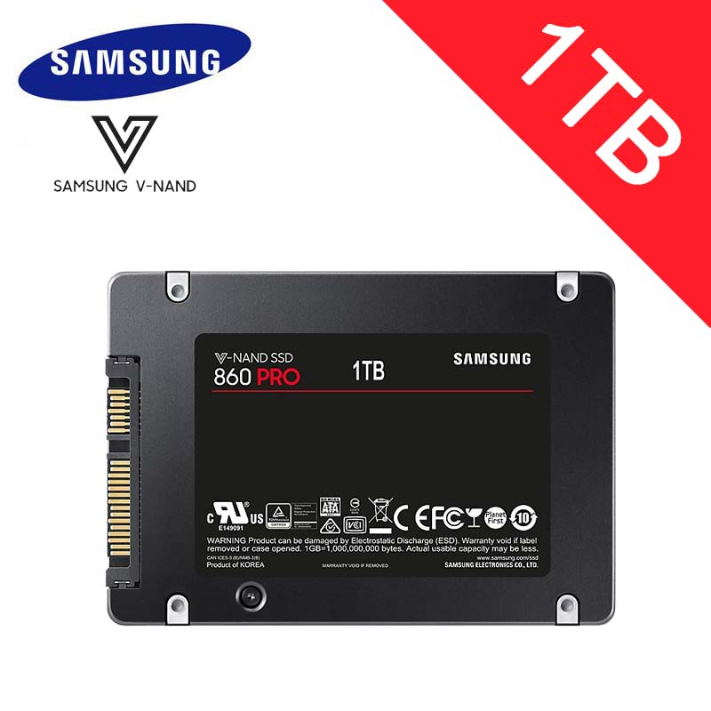 Samsung 1TB SSD HDD 2 5 256GB 512GB 2TB Sata3 intel 3D MLC V NAND 860