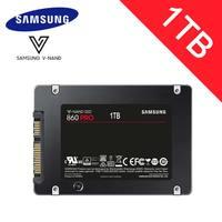 Samsung 1TB SSD HDD 2.5 256GB 512GB 2TB Sata3 intel 3D MLC V NAND 860 EVO Pro Flash Memory Solid state drive laptop PC Disk
