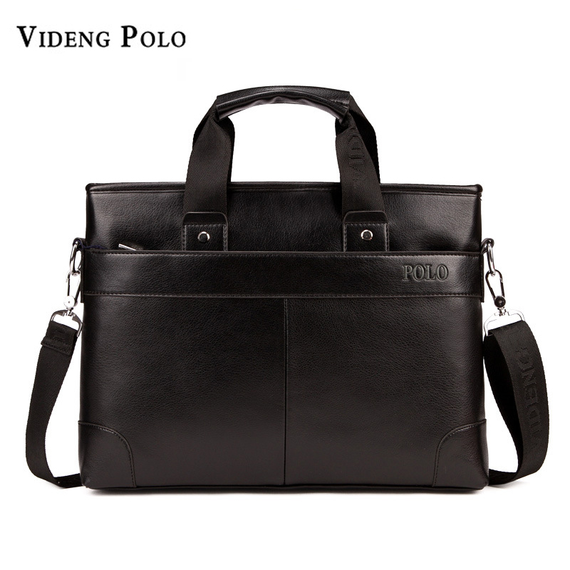 2017 New arrival POLO brand men shoulder bag man leather casual business briefcase computer laptop handbags travel Messenger bag vicuna polo new arrival brand business men s shoulder bag square design casual men bag promotion leisure messenger bag top sell