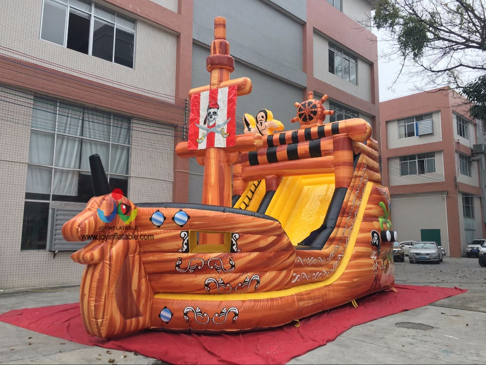9X5X8M Giant Outdoor Pirate Ship Inflatable Slide for Adult & kids In Stock with Cheap Price high quality competitive price inflatable slide for kids and adult on sale