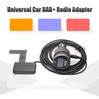 Universal Car DAB DAB Radio Receiver Tuner With FM Transmitter Converter Plug And Play Adaptor With