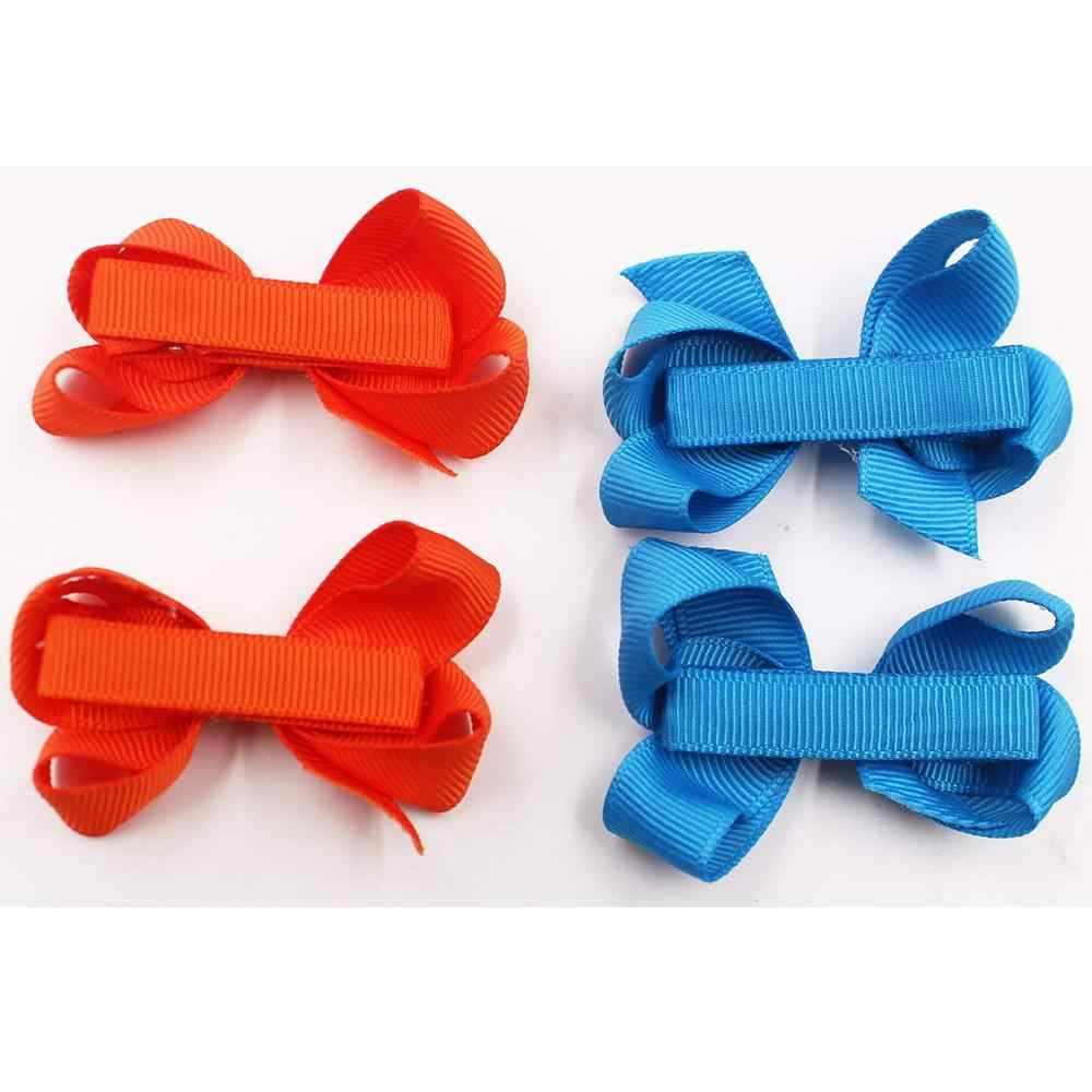 6x 20x High Quality DIY Girls Ribbon Covered Alligator Hair Clips Hairpins