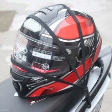 Nuevo casco Universal de Moto malla de malla para equipaje de motocicleta engranajes protectores ganchos para equipaje accesorios de motocicleta soporte organizador