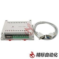 CF2N 13MR FX2N 8 wejście 5 wyjście przekaźnikowe PLC z RS232 kabel przez FX2N GX Developer drabiny CF2N-13MR nowy