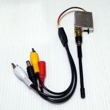 1.2 Ghz 4CH Mini Wireless modulo Trasmettitore Audio Video per la Macchina Fotografica FPV RC 400 mw