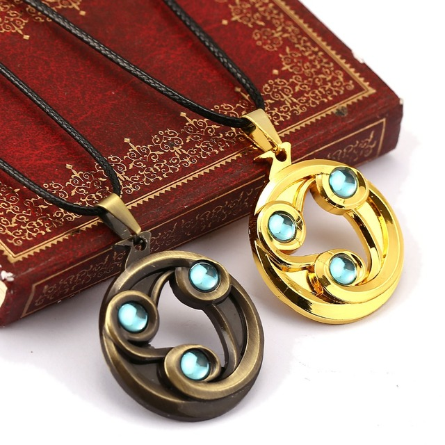 dota 2 chain necklace dota game jewelry gold choker necklace